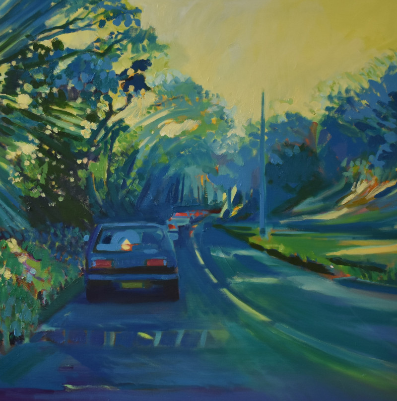Road to Falmouth - Oil Painting